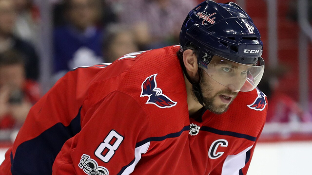 Alexander Ovechkin wins it for Capitals in OT over Red Wings 059d3dca0