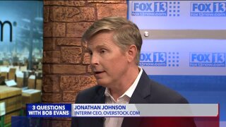 3 Questions with Bob Evans: Overstock's Jonathan Johnson on CEO resignation