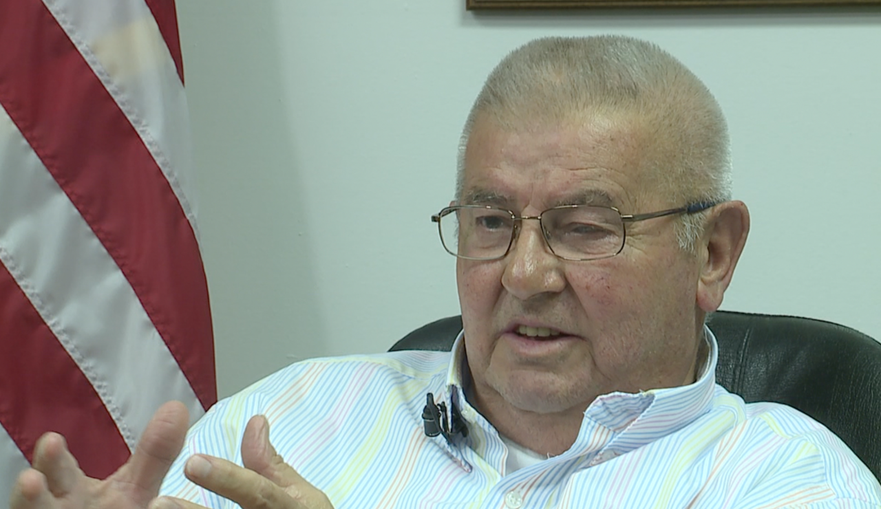 "Carroll County Judge Executive Harold ""Shorty"" Tomlinson"