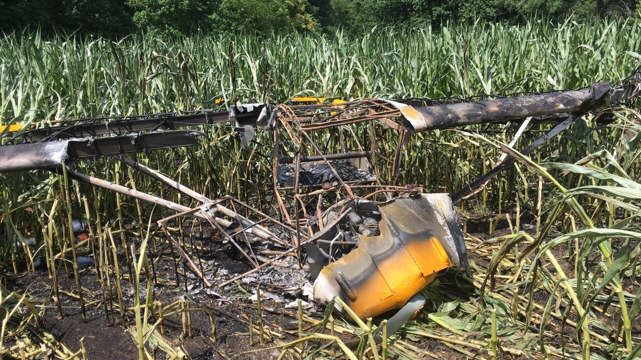 Pilot suffers serious injuries after small plane crash in Prince Edwardfield