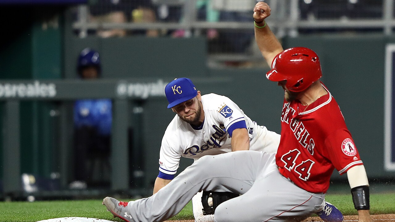 Los Angeles Angels of Anaheim v Kansas City Royals
