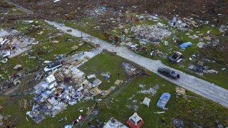 East and Grand Bahama destruction