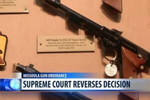 MT Supreme Court overturns Missoula's ordinance on gun background checks