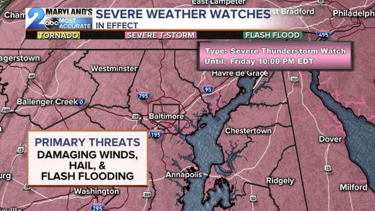 WATCHES ISSUED: Severe Storms & More Flooding