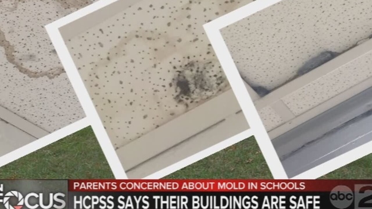Parents' concerns remain about mold in schools