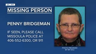 Missing-Endangered Person Advisory for Penny Elizabeth Bridgeman
