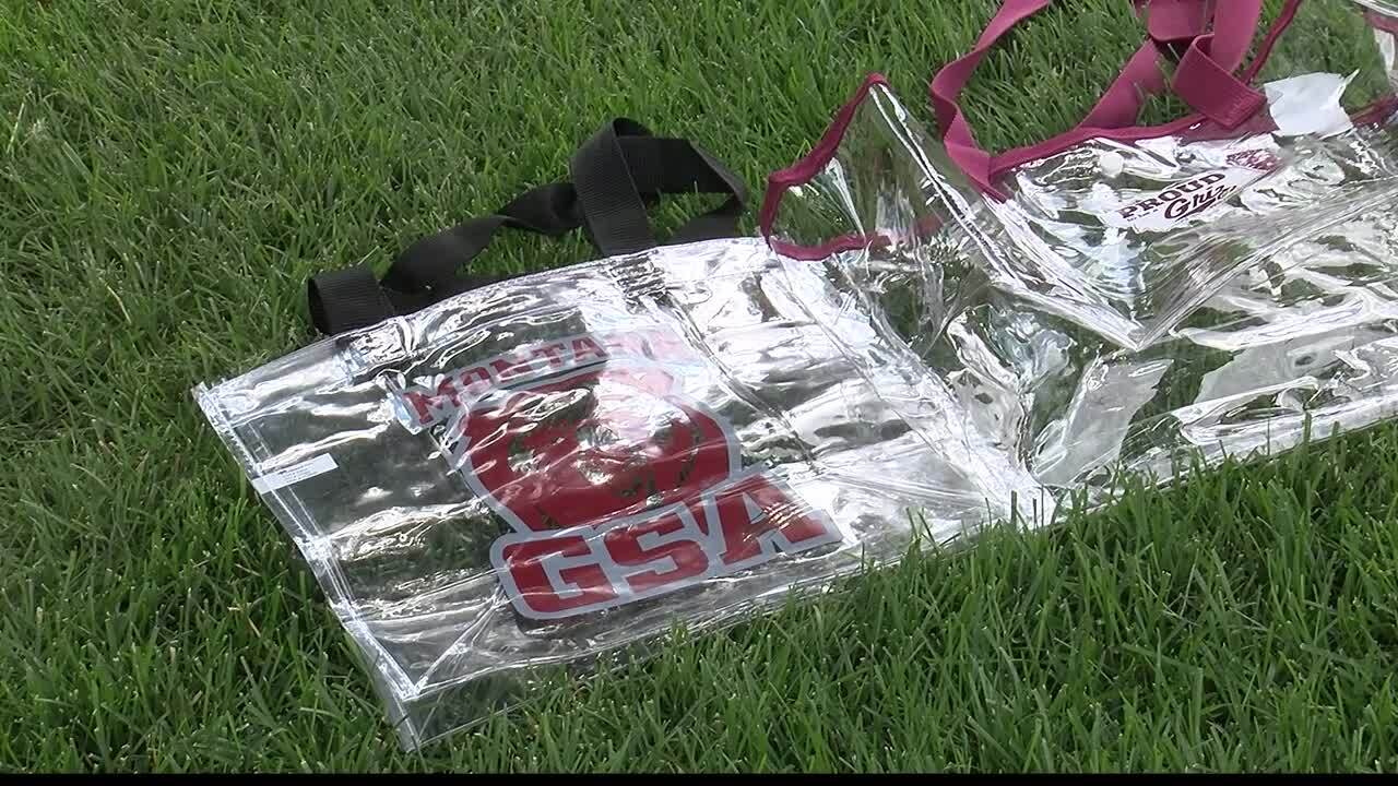 Game day reminder of UM's clear bag policy
