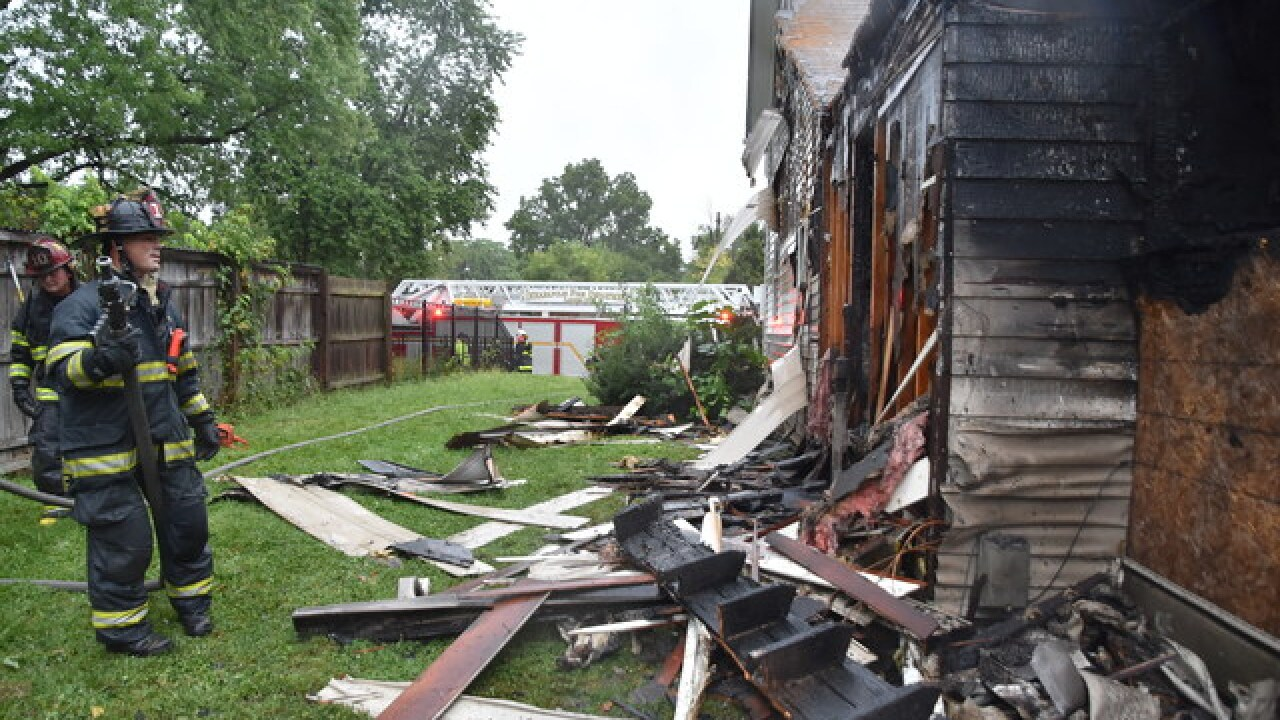 IFD battles house fire, delivers baby next door