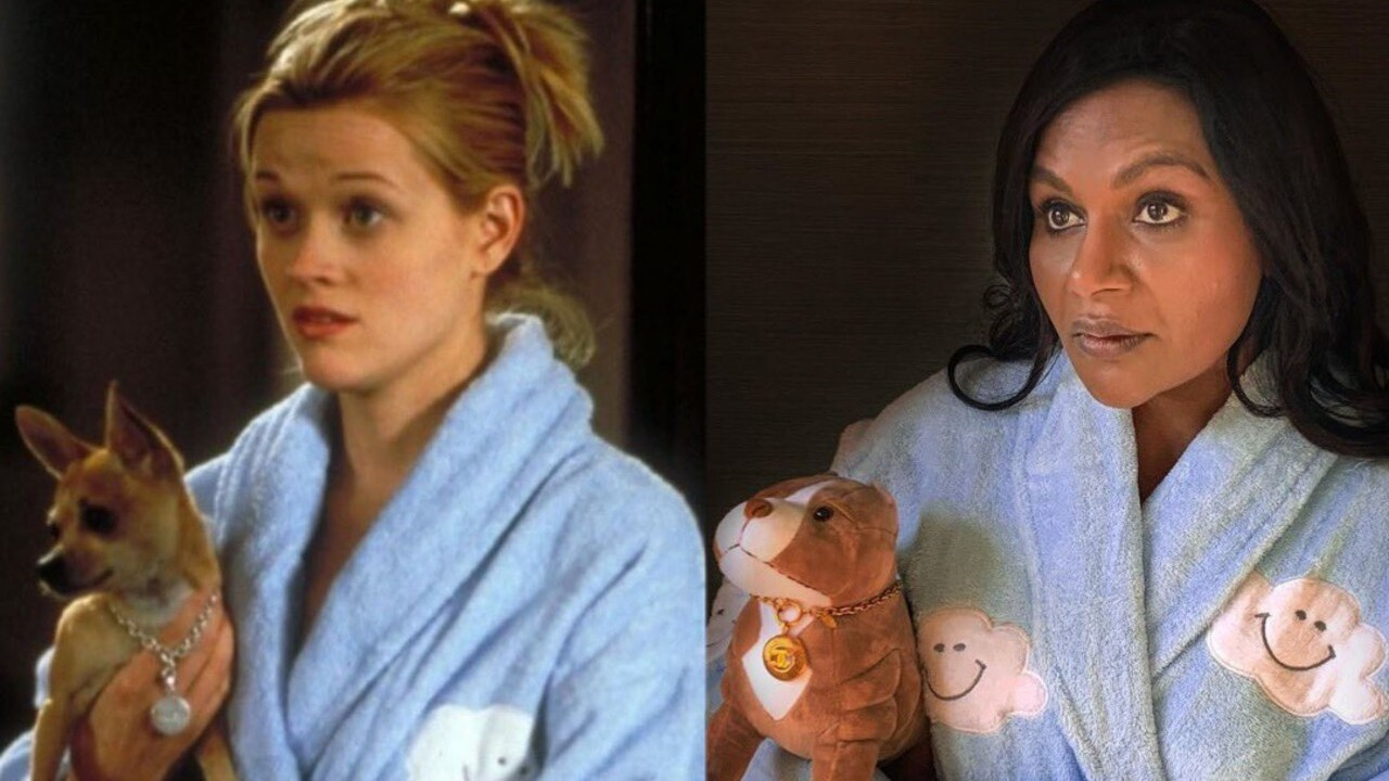 Mindy Kaling will co-write 'Legally Blonde 3' with Reese Witherspoon reprising role