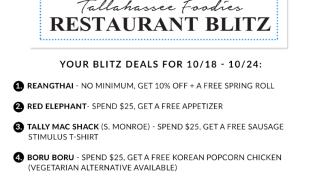Tallahassee Foodie Restaurant Blitz
