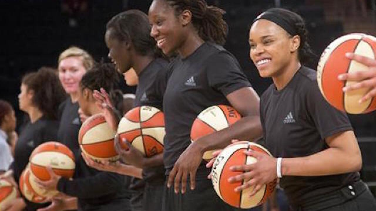 WNBA fines players, teams for wearing shirts honoring shooting victims