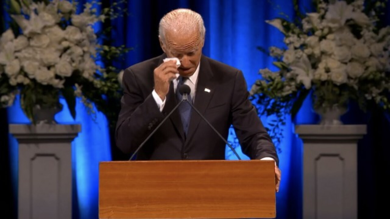 VIDEO: Biden, Fitzgerald speak at McCain service