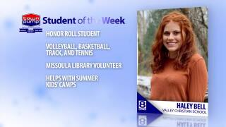 Student of the Week: Haley Bell