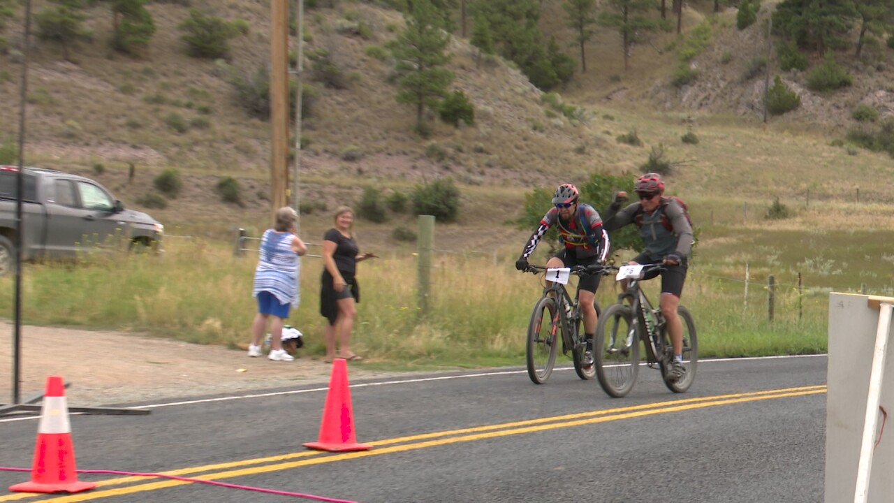 Cyclists hit road in York for annual 38 Special mountain bike ride