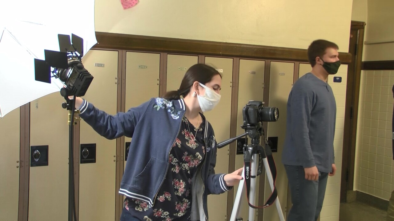 Great Falls students learn about video production