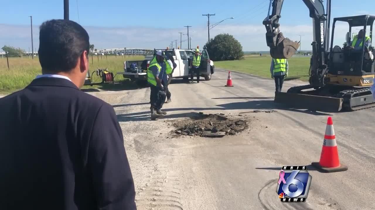 Manhole mystery on North Beach