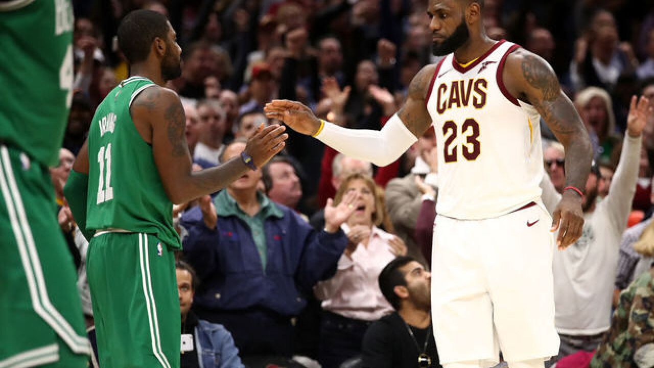 Cavs beat Boston Celtics 102-99 during first game of the season