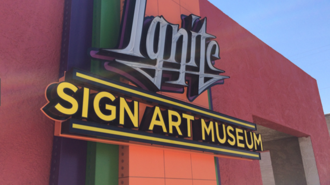 Sign art museum in Tucson opens