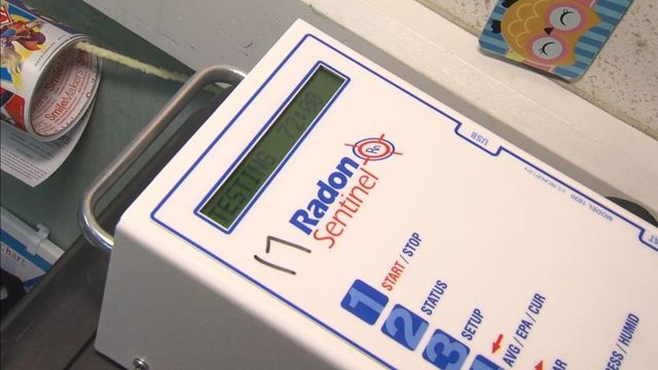 Most Indiana schools don't test for radon gas