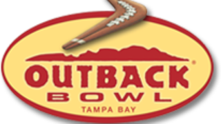 Outback Bowl in Tampa today