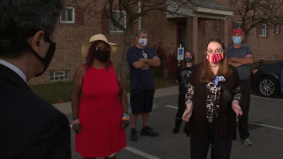 Brunswick apartment tenants fight against alleged drug activity