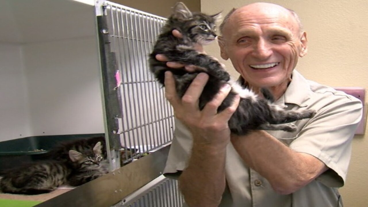 """The Cat Man"" helps save thousands of felines"