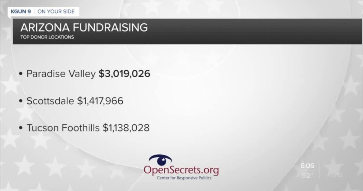 Politics: Arizona Donation hotspots