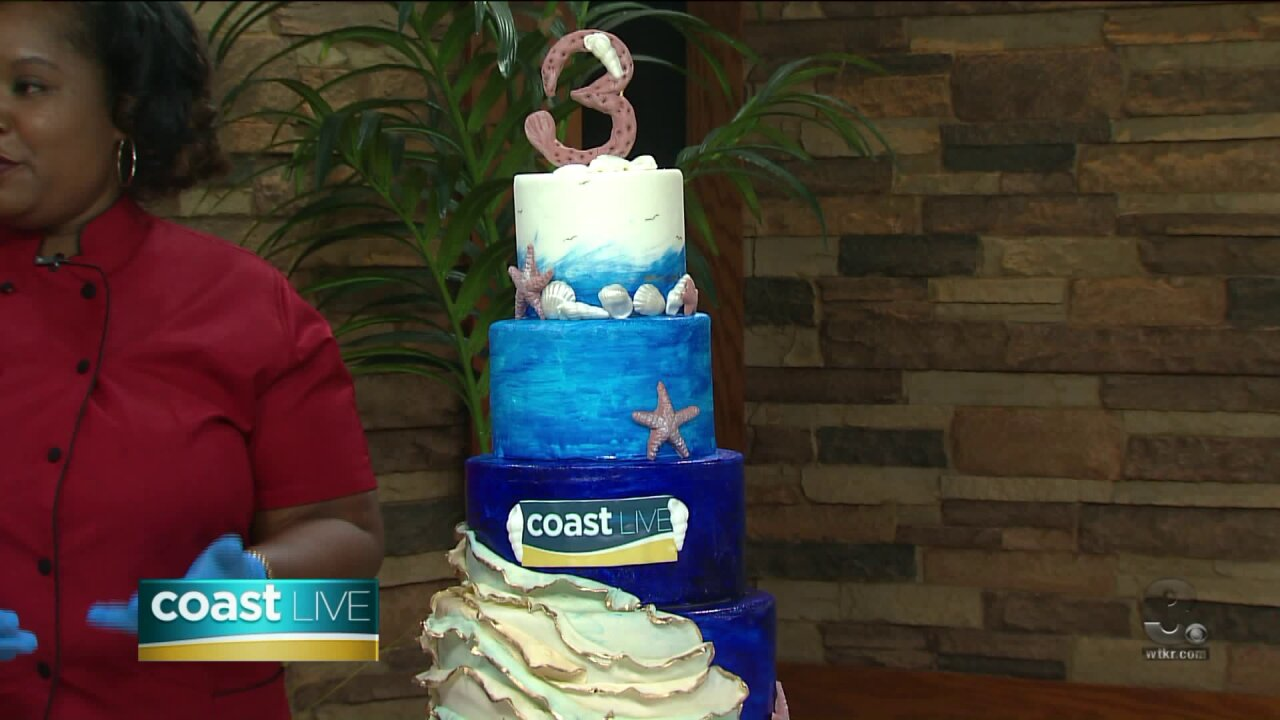 Celebrating our three year anniversary with a special cake and contest on Coast Live