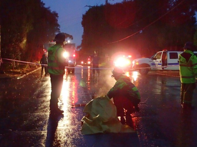 Photos show dramatic mudslide rescues in Santa Barbara and Los Angeles Counties