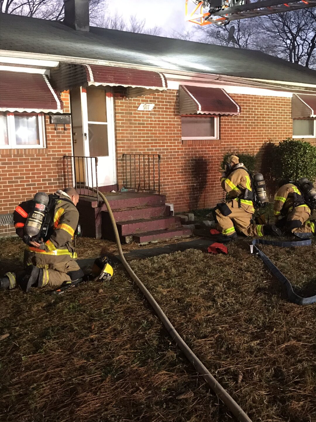Photos: Dog rescued from Norfolk house fire
