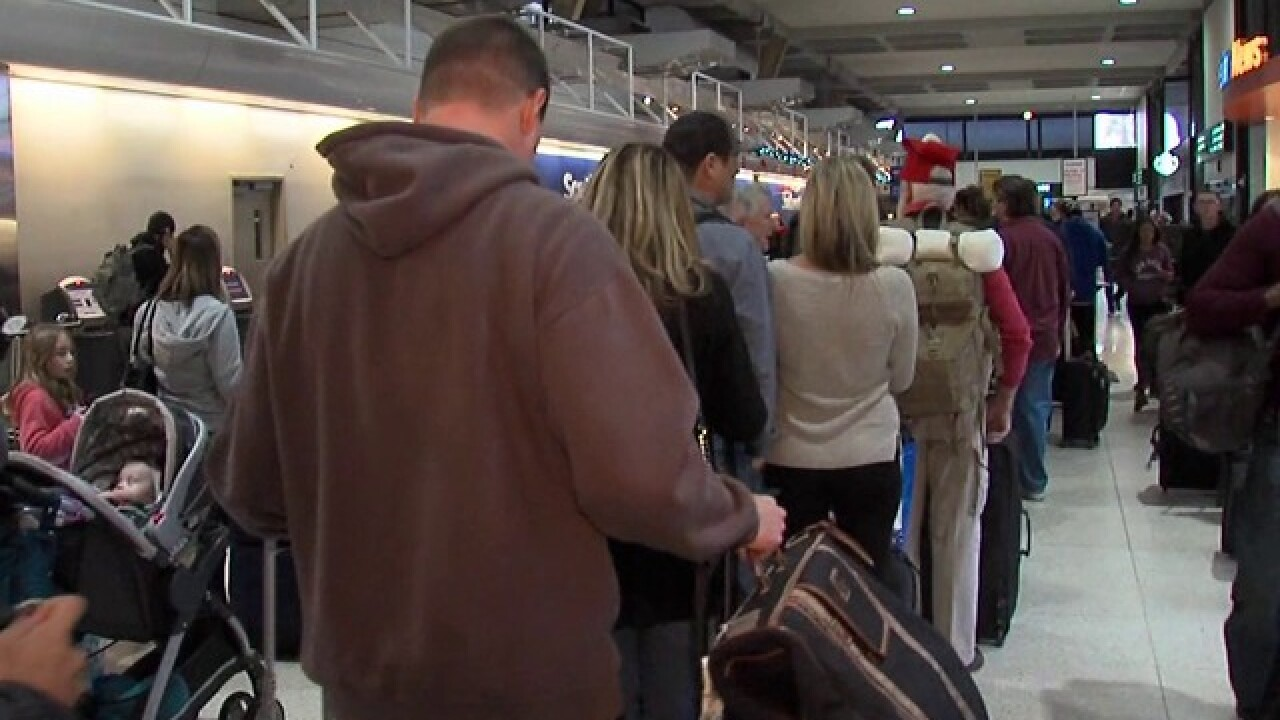 Airlines prep for holiday travel crush