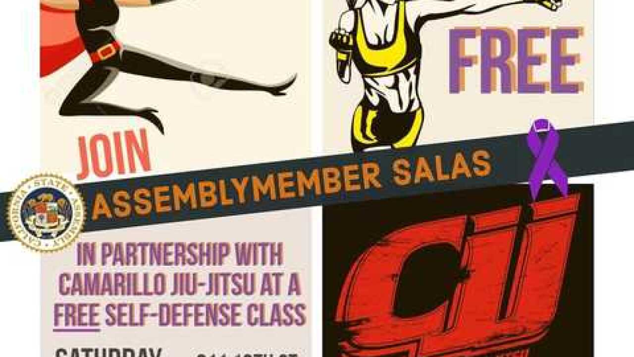 Assemblyman Rudy Salas teaming up with local jiu-jitsu business to offer free self-defense classes
