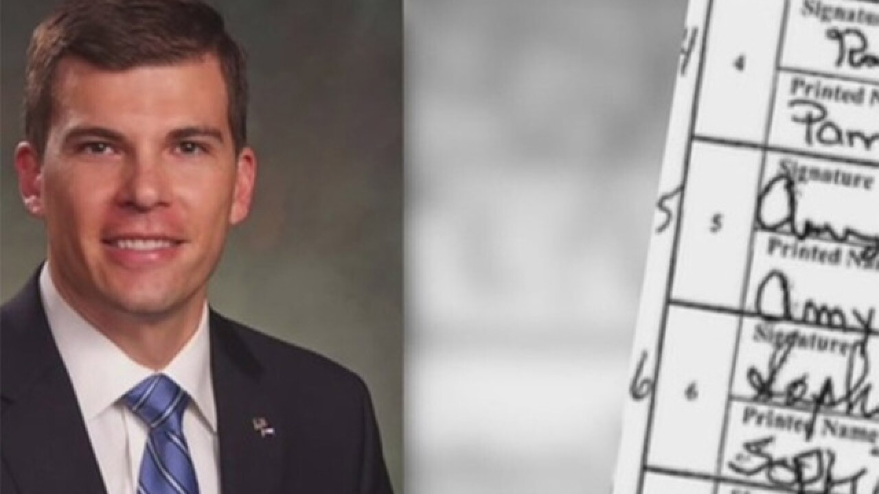 Secretary of State sued over forged signatures