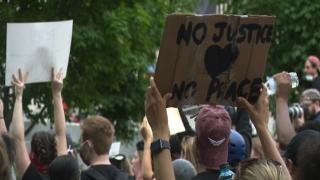 Columbus protests