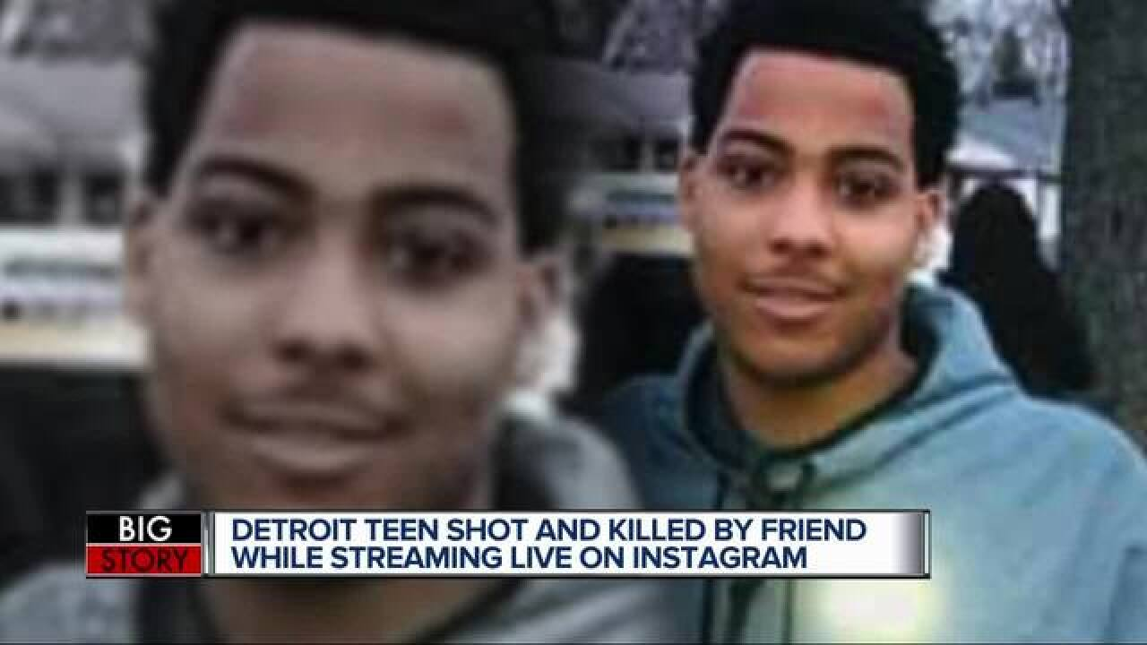Detroit man fatally shot while live on Instagram