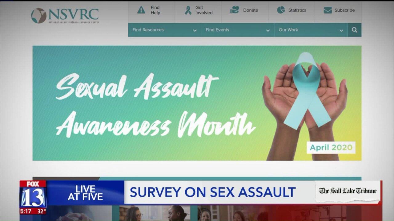 Salt Lake Tribune surveys Utah women on sexual assault and partnerviolence