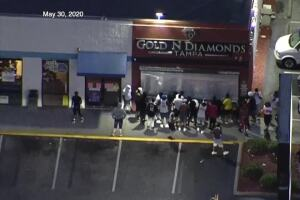 Dozens of looters arrested in connection with night of unrest in Tampa on May 30