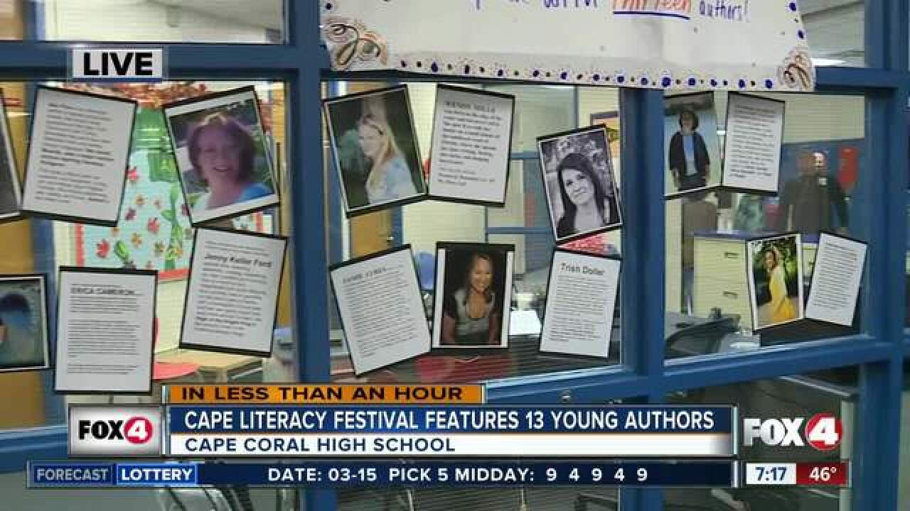 13 young authors visit Cape Coral High School