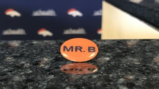mr. b sticker broncos pat bowlen