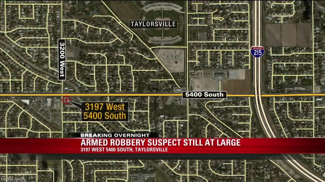 Suspect armed with hatchet, knife robs Taylorsville Taco Bell