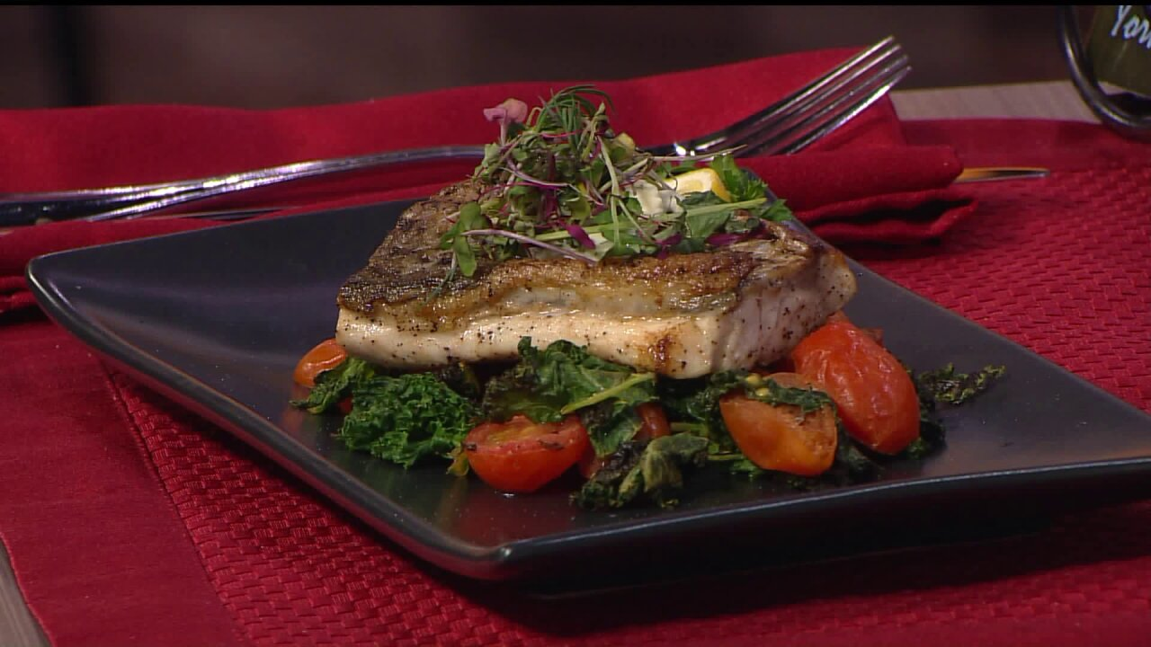 Chef K's Pan Seared RockfishCreation