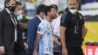 APTOPIX Brazil Argentina Wcup Soccer