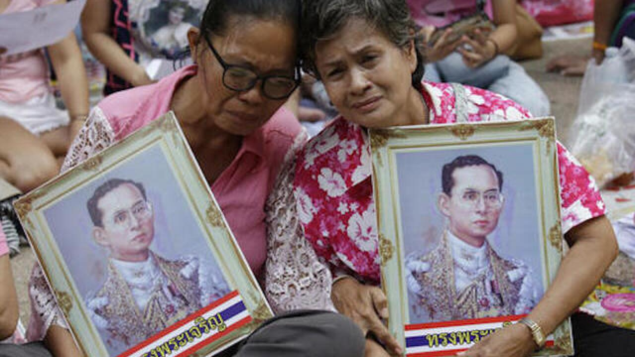Thailand's king, world's longest-reigning monarch, dies