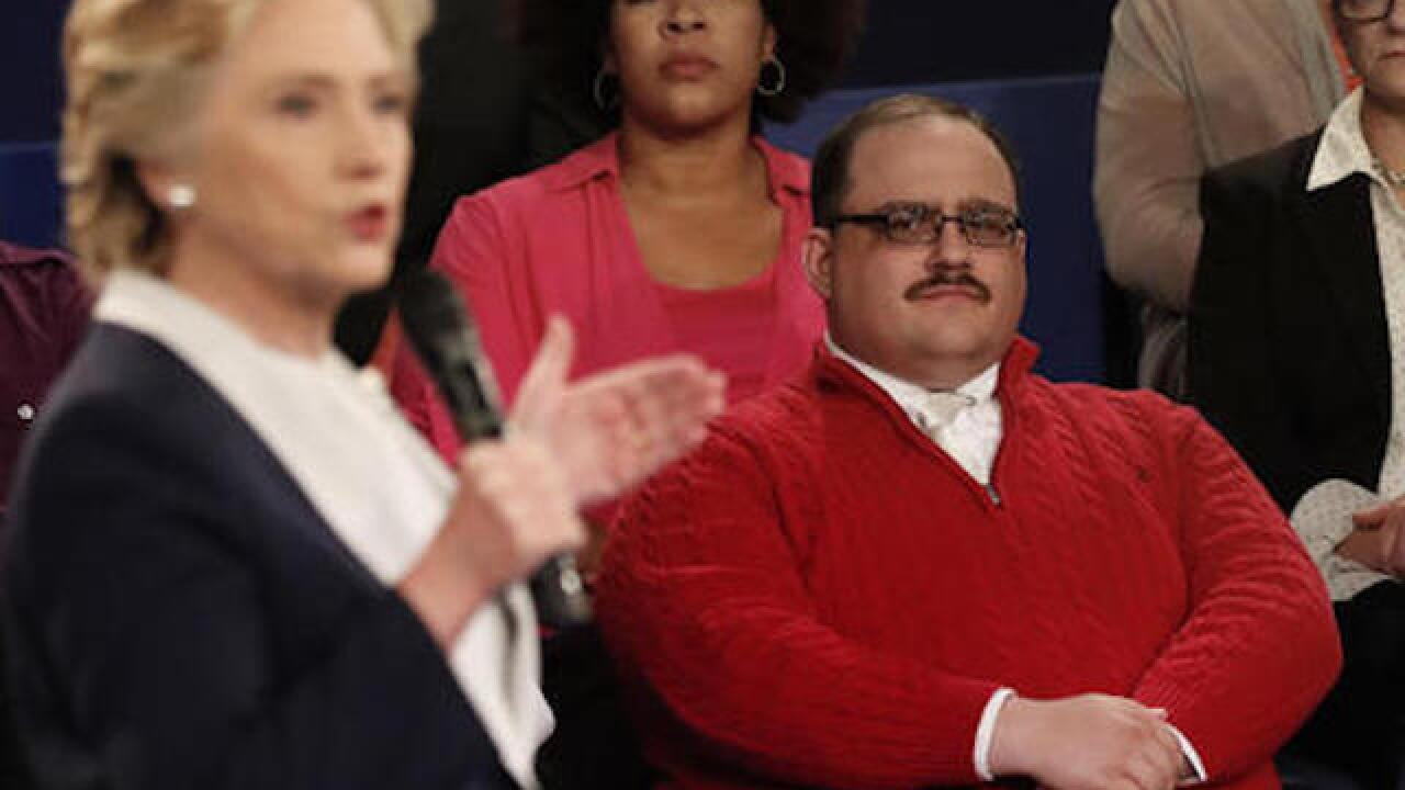 Ken Bone becomes internet star following debate