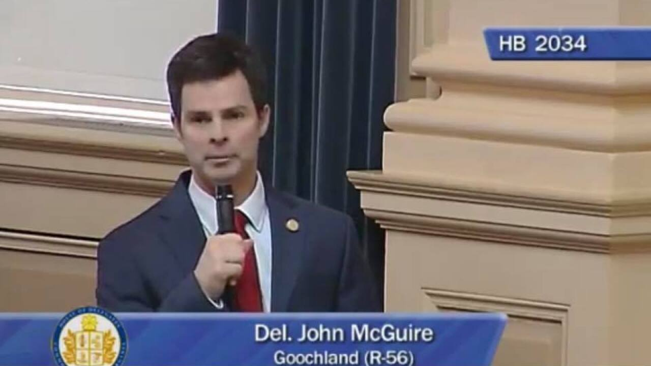 Meet Del. John McGuire, Republican running for reelection in House District 56