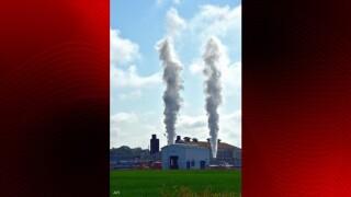 Gas venting at Acadia Parish plant this morning