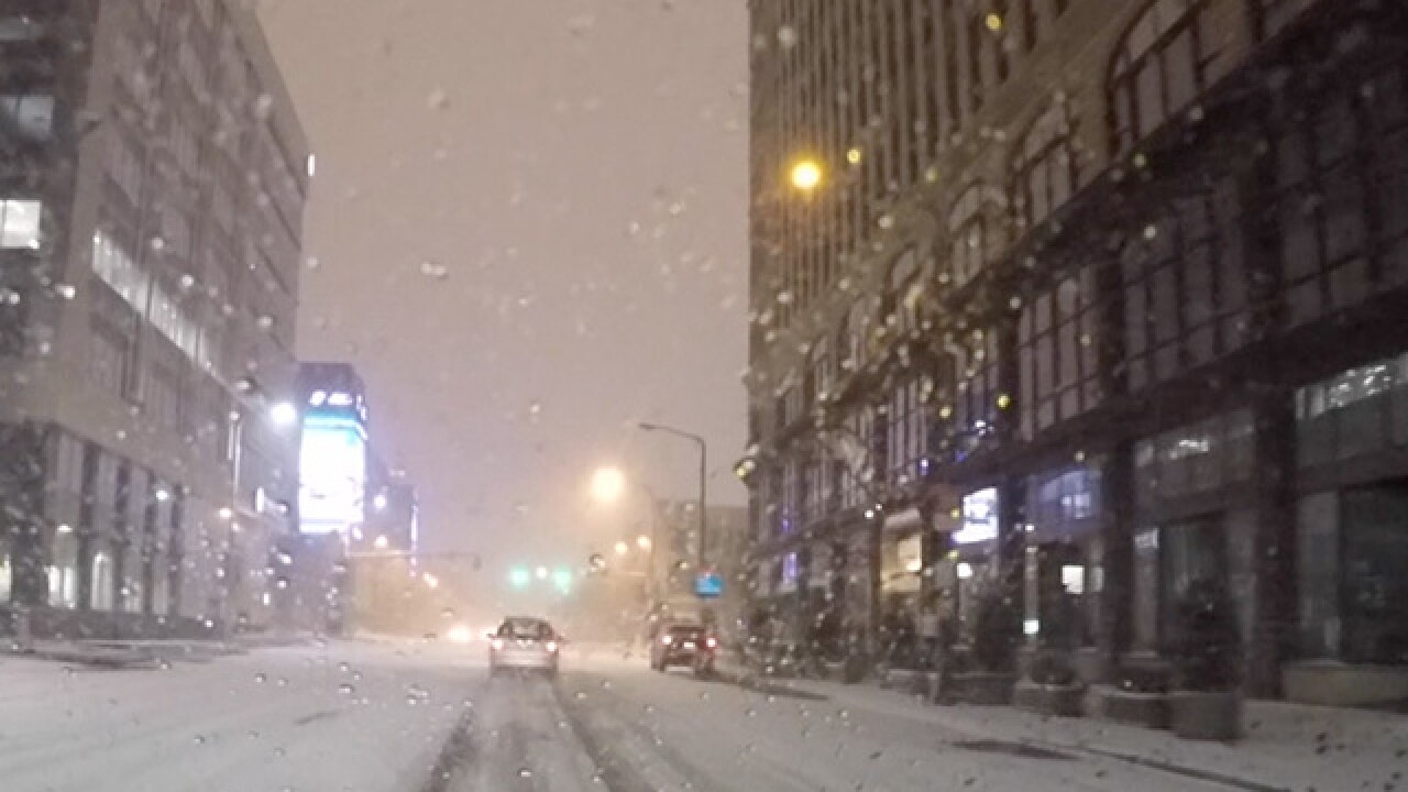 More snow: What it means for the evening commute