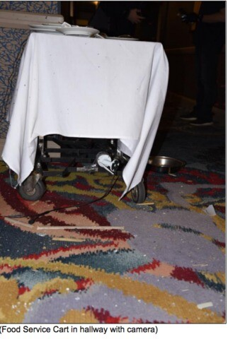 PHOTOS: Inside gunman Stephen Paddock's suite at Mandalay Bay