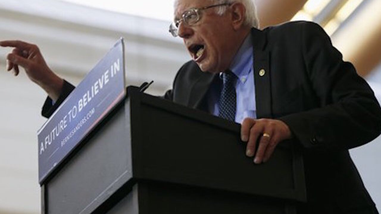 Sanders backs bill to let 9/11 families sue