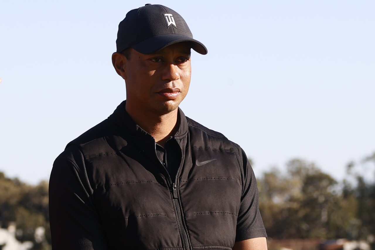 Tiger Woods at 2021 Genesis Invitational